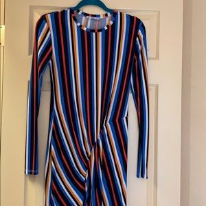 Zara Dresses - Zara stripped dress